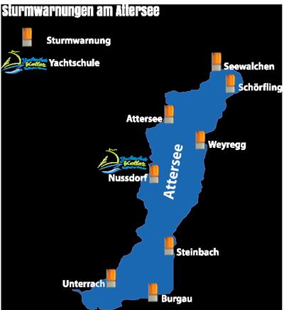 Sturmwarnung-Attersee